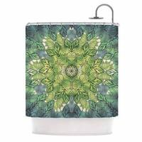 KESS InHouse Art Love Passion Celtic Mandala Shower Curtain (69x70)
