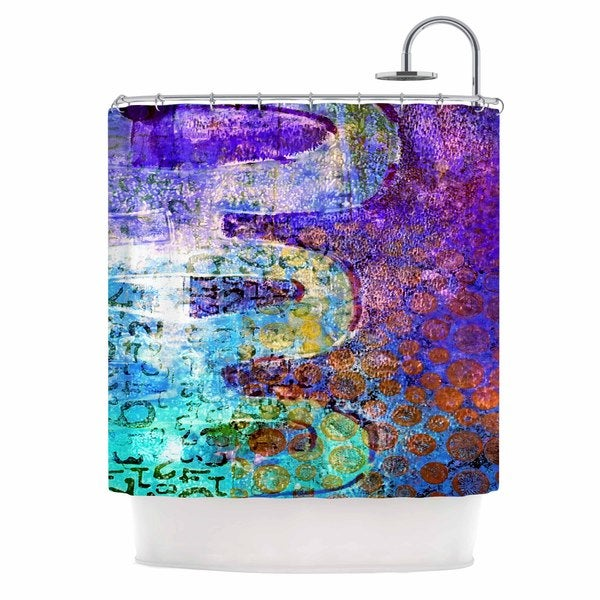 KESS InHouse AlyZen Moonshadow ARCANE 2 Shower Curtain (69x70)