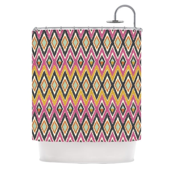 KESS InHouse Amanda Lane Sequoyah Tribals Shower Curtain (69x70)