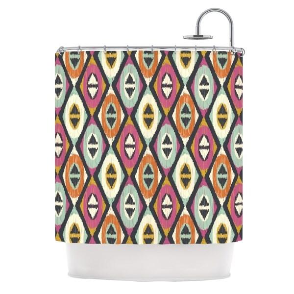 KESS InHouse Amanda Lane Sequoyah Diamonds Shower Curtain (69x70)