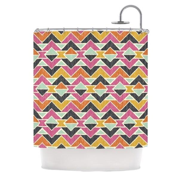 KESS InHouse Amanda Lane Sequoyah Arrows Shower Curtain (69x70)