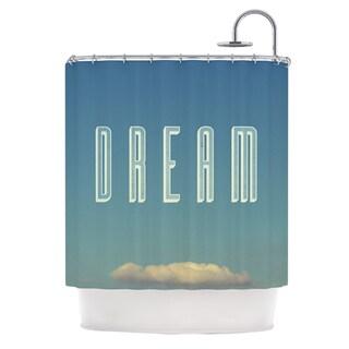 KESS InHouse Galaxy Eyes Dream Print Shower Curtain (69x70)