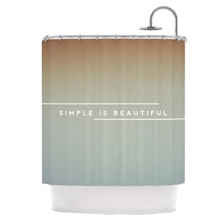 KESS InHouse Galaxy Eyes Simple Beautiful Shower Curtain (69x70)