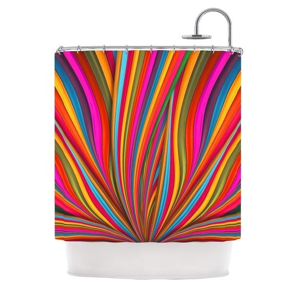 KESS InHouse Danny Ivan Believer Multicolor Shower Curtain (69x70)