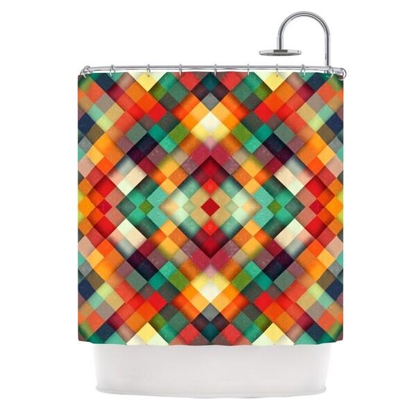 "KESS InHouse Danny Ivan ""Time Between"" Geometric Abstract Shower Curtain (69x70) - 69 x 70"