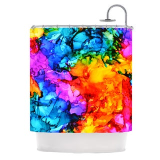 KESS InHouse Claire Day Sweet Sour II Shower Curtain (69x70)