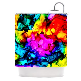 KESS InHouse Claire Day Sweet Sour Shower Curtain (69x70)