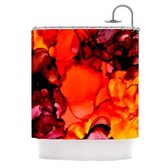 KESS InHouse Claire Day Mordor Shower Curtain (69x70)