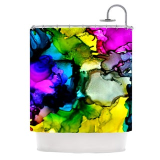 KESS InHouse Claire Day A Little Out There Shower Curtain (69x70)