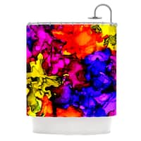 KESS InHouse Claire Day Chica Shower Curtain (69x70)