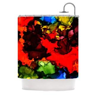 KESS InHouse Claire Day Beach Bum Shower Curtain (69x70)