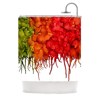 KESS InHouse Claire Day Fall Splatter Shower Curtain (69x70)