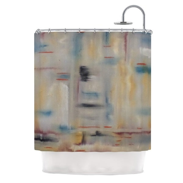 KESS InHouse Cathy Rodgers Library Painting Abstract Shower Curtain (69x70)