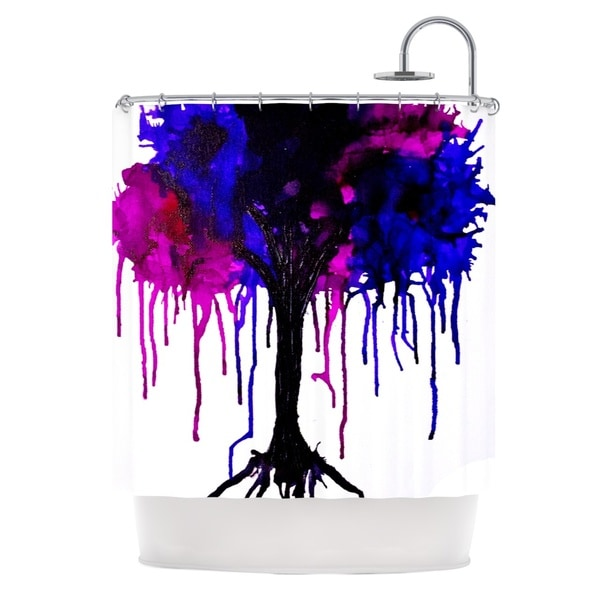 KESS InHouse Claire Day Weeping Willow Shower Curtain (69x70)