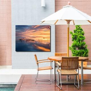 Ready2HangArt Indoor/Outdoor Wall Décor 'Fish Nets' in ArtPlexi