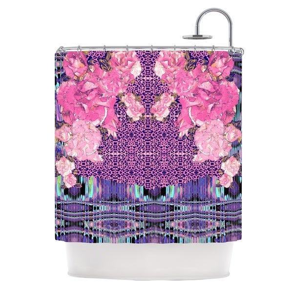 KESS InHouse Nina May Lepparo Shower Curtain (69x70)