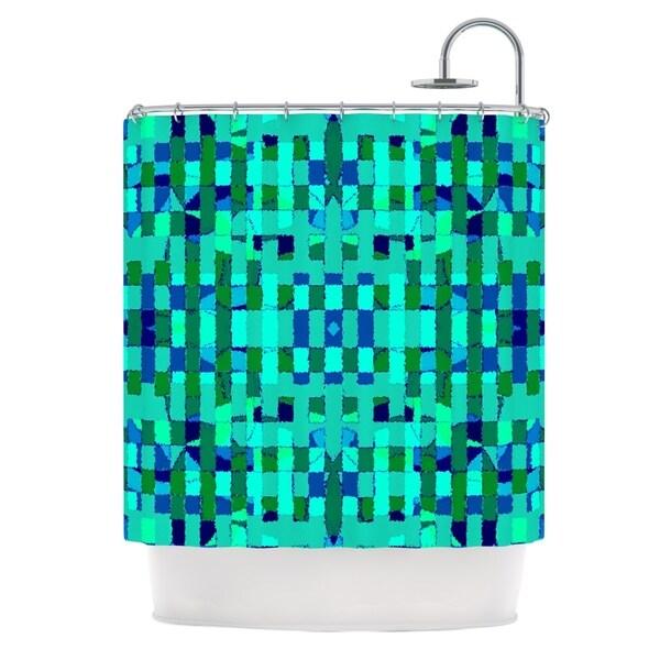 KESS InHouse Nina May Verdiga Shower Curtain (69x70)