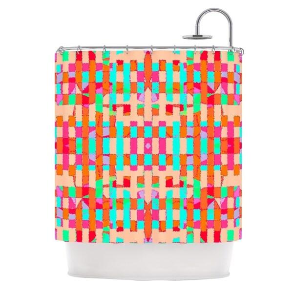 KESS InHouse Nina May Sorbetta Shower Curtain (69x70)