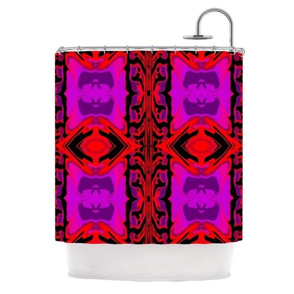 KESS InHouse Nina May Ornamena Shower Curtain (69x70)