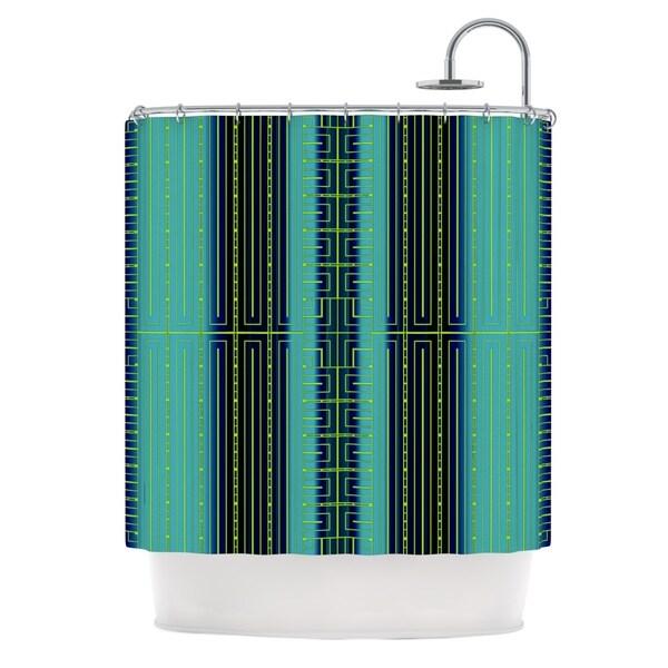 KESS InHouse Nina May Deco City Shower Curtain (69x70)