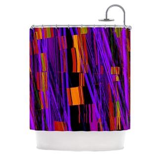 KESS InHouse Nina May Threads Shower Curtain (69x70)