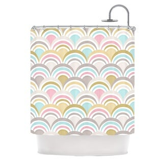 KESS InHouse Nicole Ketchum Art Deco Delight Shower Curtain (69x70)