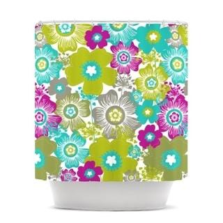 KESS InHouse Nicole Ketchum Little Bloom Shower Curtain (69x70)