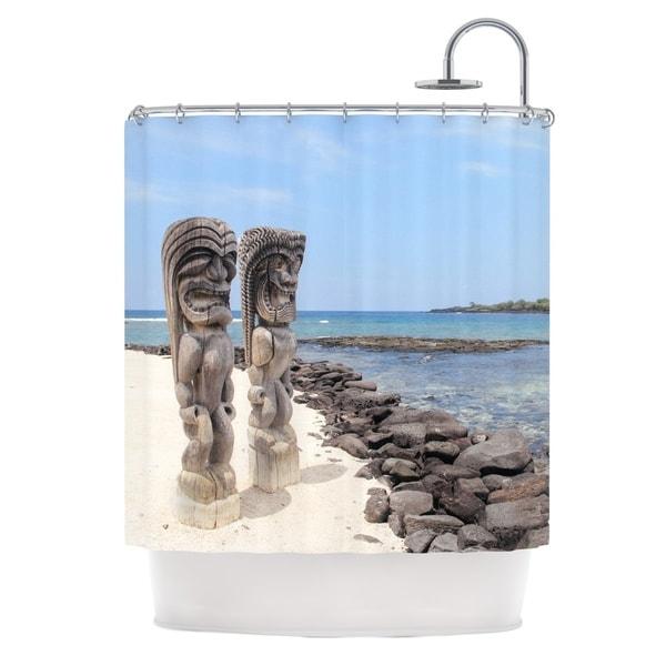 KESS InHouse Nastasia Cook City of Refuge Coastal Shower Curtain (69x70)