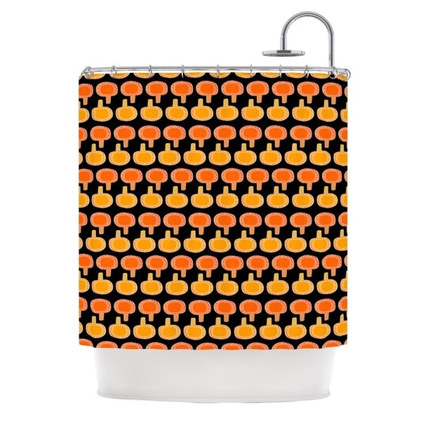 Exciting Orange And Black Shower Curtain Gallery   Best Image  Beautiful Orange And Black Shower Curtain Photos   3D house  . Orange And Black Shower Curtain. Home Design Ideas