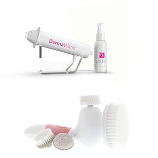Dermawand Kit with Vanity Planet Spin for Perfect Skin Brush