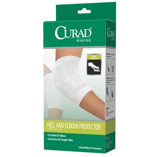 Curad Universal Knit Design Heel and Elbow Protector