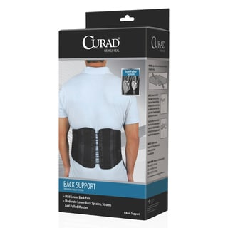 Curad Back Support with Dual-Pulley System