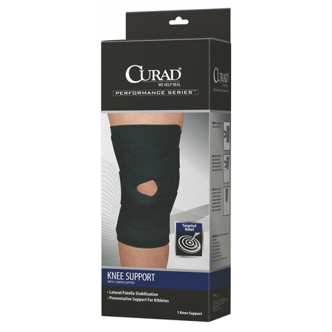 Curad J-Shaped Knee Support