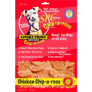 Savory Prime Chicken Jerky Chip-A-Roo's