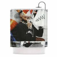 KESS InHouse Jina Ninjjaga Style Pop Art Shower Curtain (69x70)