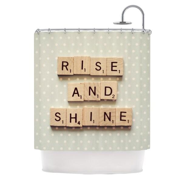 KESS InHouse Cristina Mitchell Rise and Shine Shower Curtain (69x70)
