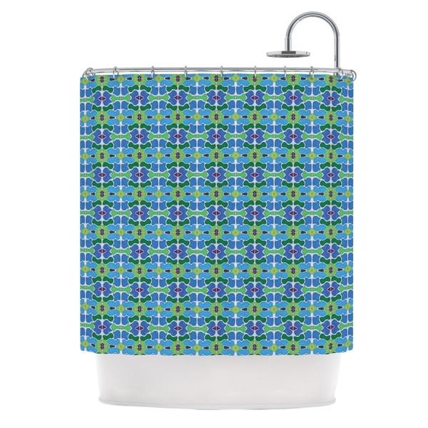 KESS InHouse Empire Ruhl Sea Glass Shower Curtain (69x70)