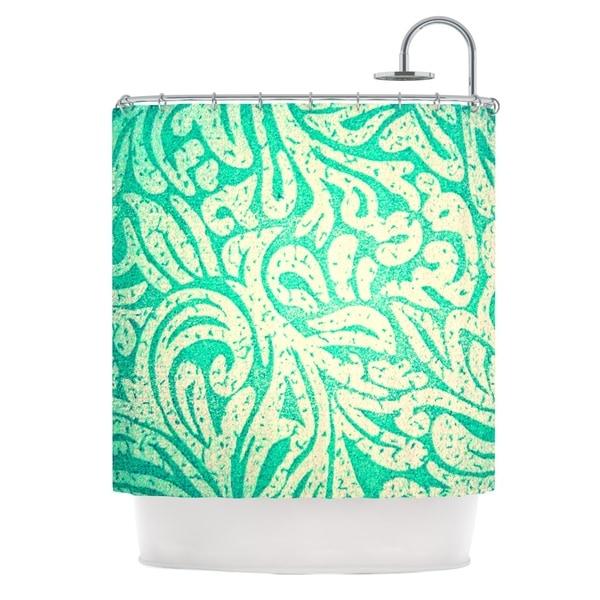 KESS InHouse Alveron Spring Paisley Shower Curtain (69x70)