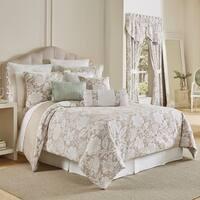 Croscill Nellie Floral Woven Jacquard 4 Piece Comforter Set