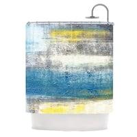 KESS InHouse CarolLynn Tice Make A Statement Shower Curtain (69x70)