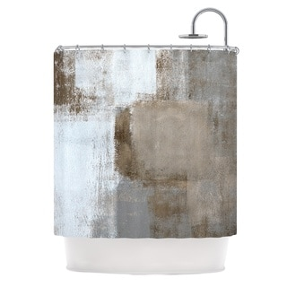 KESS InHouse CarolLynn Tice Calm and Neutral Shower Curtain (69x70)
