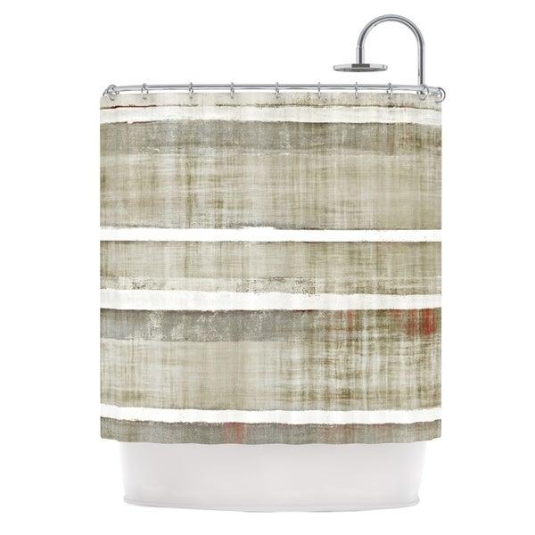 KESS InHouse CarolLynn Tice Loving Life Shower Curtain (69x70)