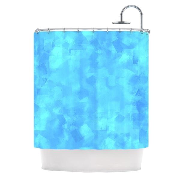 KESS InHouse CarolLynn Tice Convenience Blue Shower Curtain (69x70)