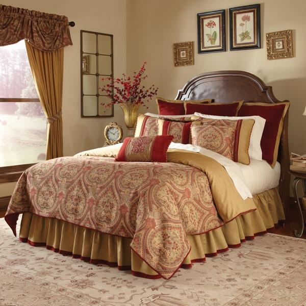 Veratex Cordovan Jacquard 4 Piece Comforter Set