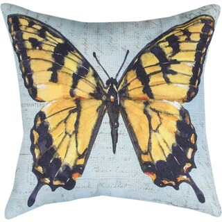 Manual BUTTERFLY WINGS MONARCH MULTI COLOR Throw Pillow
