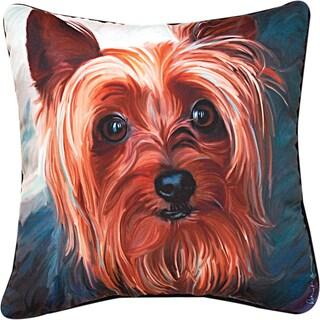 Manual YORKIE STYLE YORKIE   MULTI COLOR Throw Pillow