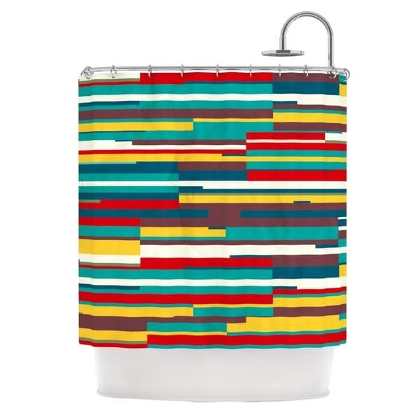KESS InHouse Danny Ivan Blowmind Shower Curtain (69x70)