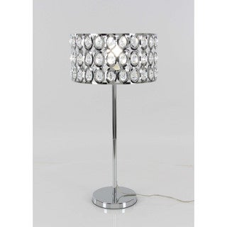 Designer Metal Crystal Table Lamp