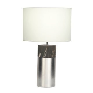 Chic Marble Grey Table Lamp