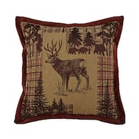 Croscill Glendale 18 x 18-inch Square Throw Pillow